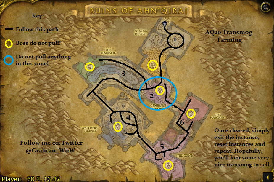 AQ20 – (Ruins of AhnQ'iraj) | Grahran's WoW Gold