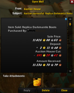 Darkmantle boots SOLD