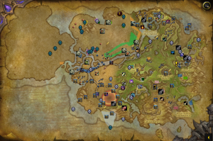 handy notes map image